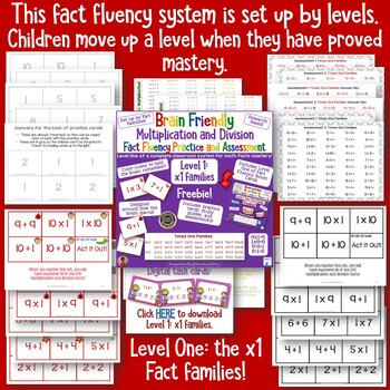 Multiplication and Division Facts: A Whole System for Building Fact Fluency!