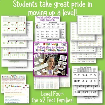 Multiplication and Division Facts   A Whole System for Building Fact Fluency