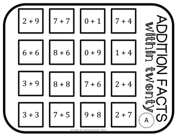 Fact Fluency Number Sort- All 4 operations, 40 total games!