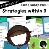 Fact Fluency Pack 1 (Kindergarten)