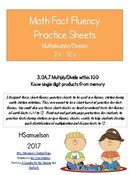Fact Fluency Practice