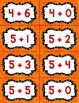 Fact Fluency Practice Cards 0-20 Addition {ORANGE} Flash Cards