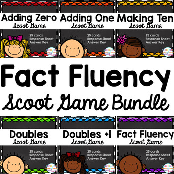 Fact Fluency Scoot Games