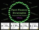Fact Fluency Strategies Around the Room