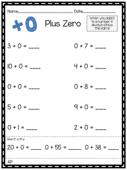 Fact Fluency Strategies and Practice for Addition