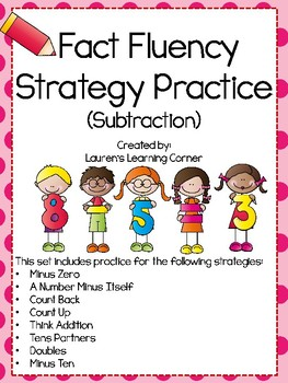 Fact Fluency Strategies and Practice for Subtraction