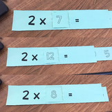 Fact Fluency Strips