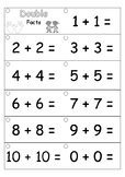 Fact Fluency Strips