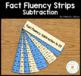 Math Fact Fluency Strips: Addition and Subtraction BUNDLE