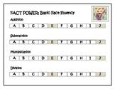Fact Fluency Timed Test Chart