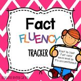 Fact Fluency Tracker