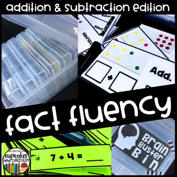 Fact Fluency Warm-Up Bins Addition and Subtraction