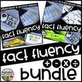 Fact Fluency Warm-Up Bins Bundle
