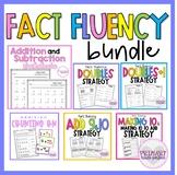 Addition Strategies Math Fact Fluency Bundle Distance Lear