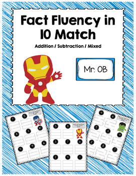 Addition and Subtraction in 10 File Folder Expression Match