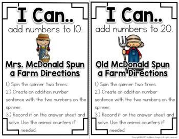 Fact Fluency to 10 and 20 (Making Math Routine Centers)