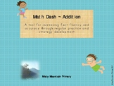 Fact Fluency with Math Dash - Additiion