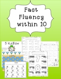 Math Facts Fluency within 10: mixed addition and subtracti