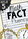 Fact Fluency within 5