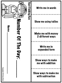Foldables ~ Fact Folding Fun! Math Flip-Flap Books And Elementary Lapbooks!