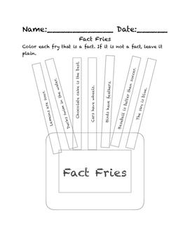 Fact Fries