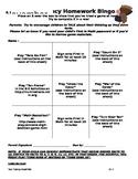 Fact Homework Bingo for November