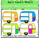 Counting Campers (Sunnah Learners Clipart)