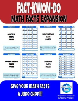 Fact-Kwon-Do Math Facts Expansion - Student Monitoring & M