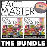 Fact Master BUNDLE:  Addition, Subtraction, Multiplication