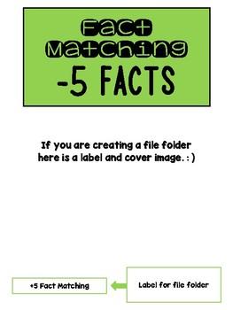 Fact Memory/File Folder Activity: -5