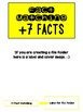 Fact Memory/File Folder Activity: +7 FACTS