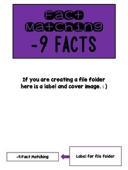 Fact Memory/File Folder Activity: -9