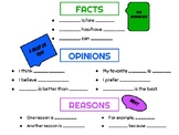 Fact & Opinion Activity Pack