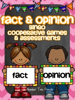 Fact & Opinion Bingo and Other Cooperative Learning Games
