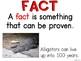 Fact & Opinion Card: Animal Edition