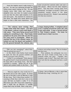 Fact & Opinion Card Columns