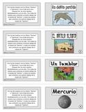 Fact & Opinion Card Columns - SPANISH