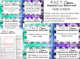 Fact, Opinion, Commonplace Assertion Task Cards or Categor