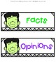 Fact & Opinion FREEBIE