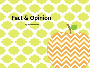 Fact & Opinion Game