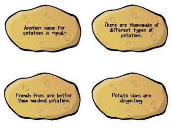 Fact & Opinion Game {{Hot Potato}}