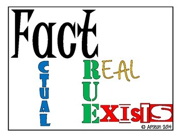 Fact & Opinion Graphic