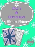 Fact & Opinion: Hidden Snowflake Winter Picture