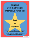 Fact & Opinion Interactive Notebook for Any Story