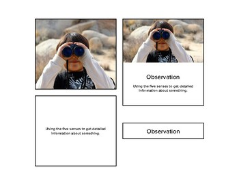 Fact, Opinion, Observation, Inference