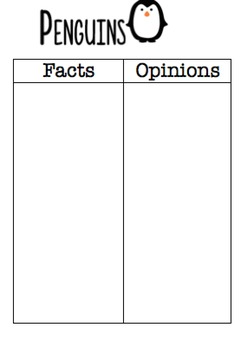 Fact & Opinion Reading Comprehension