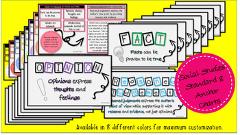 Fact, Opinion, Reasoned Judgement Anchor Charts