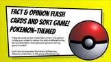 Fact & Opinion Sorting Game (Pokemon Themed)