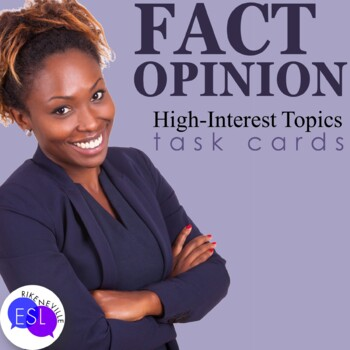 Fact and Opinion:  high interest topics for adults