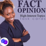 Fact and Opinion high interest topics for adults